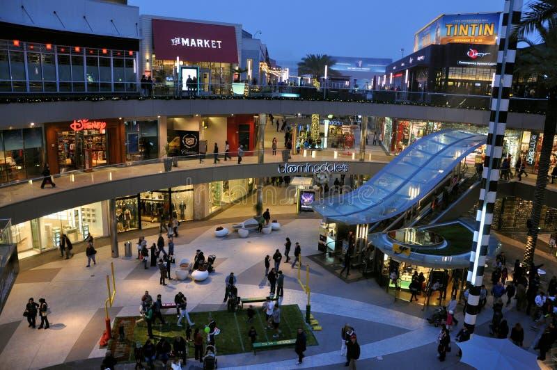 angeles los centrum handlowego zakupy zdjęcia stock