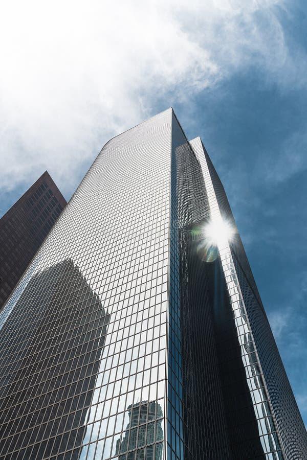 angeles los skyskrapor royaltyfri bild