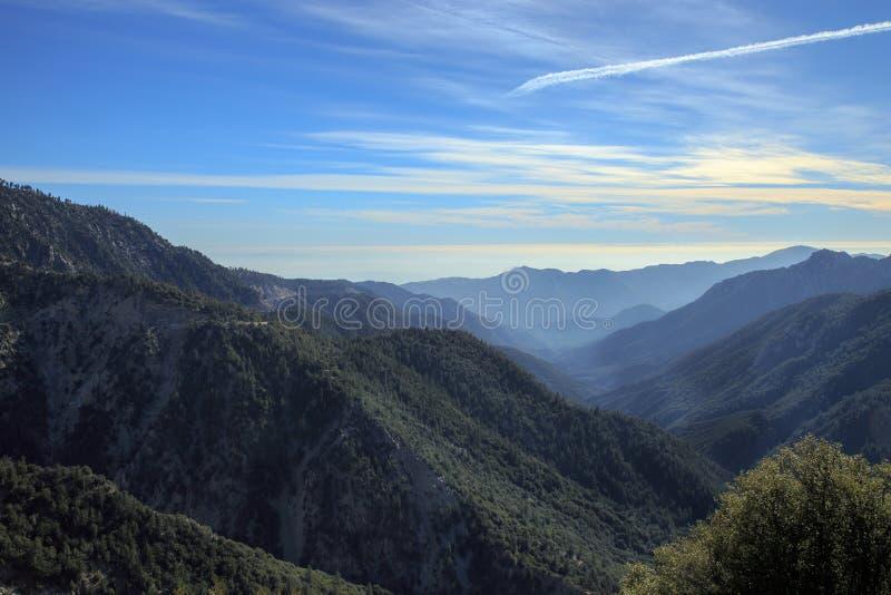 Angeles National Forest royalty-vrije stock fotografie