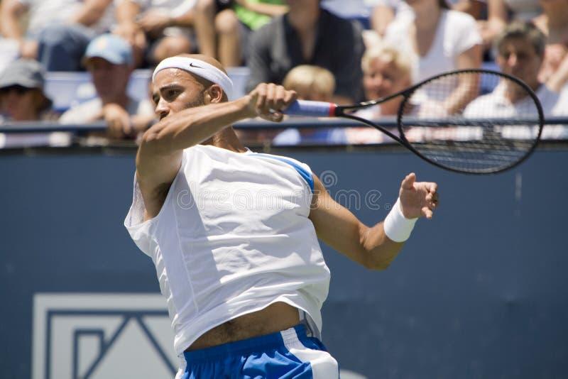 angeles turniej otwarty tenisowy Blake James los zdjęcie stock
