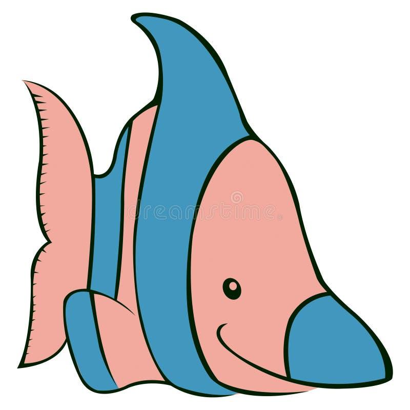 Download Angelfish stock vector. Illustration of animal, reef - 17148945