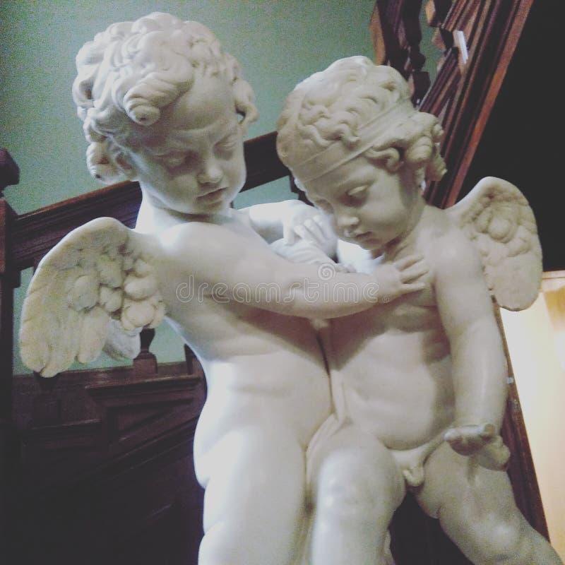 angeli fotografia stock