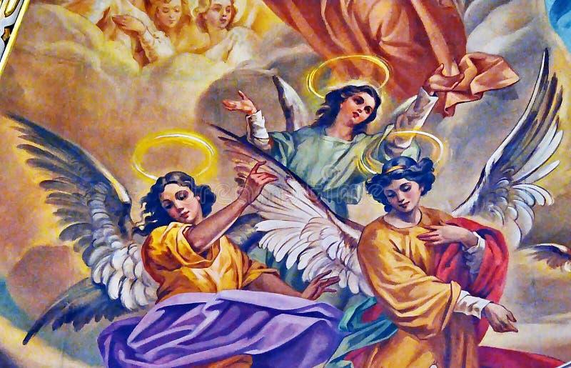 angeli fotografie stock libere da diritti