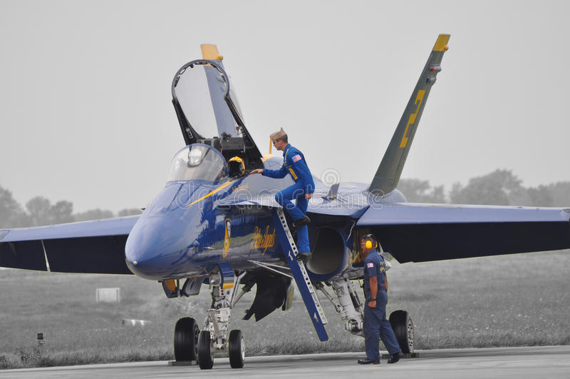 Angeli blu fotografia stock libera da diritti