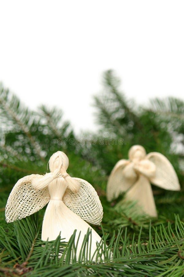Angeli di natale immagini stock