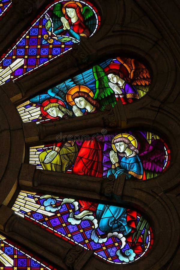 Angeli di preghiera immagine stock