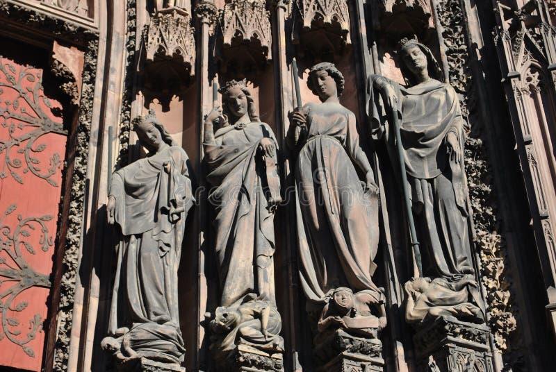 Angeli di Strasburgo fotografia stock