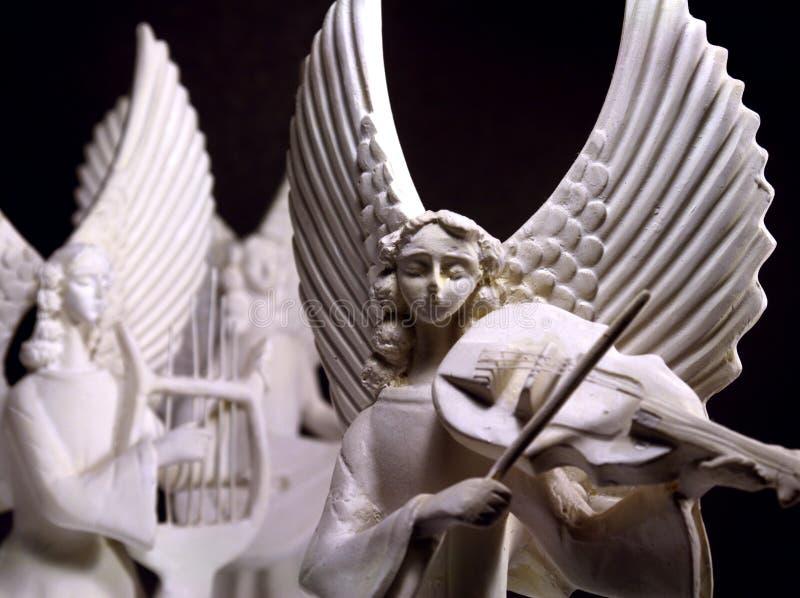 Angeli musicali fotografie stock libere da diritti