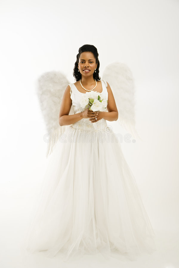 Download Angelic bride. stock photo. Image of american, person - 2849338