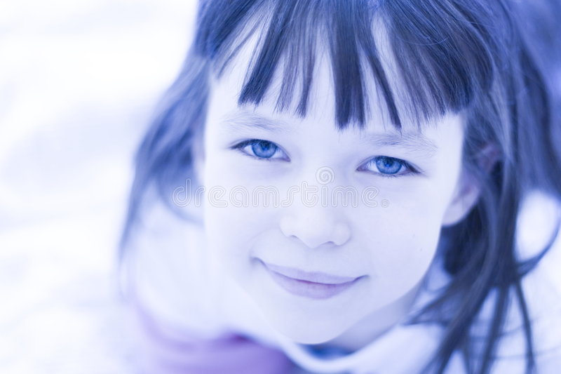 Download Angelic Child stock image. Image of double, cute, adorable - 1605347