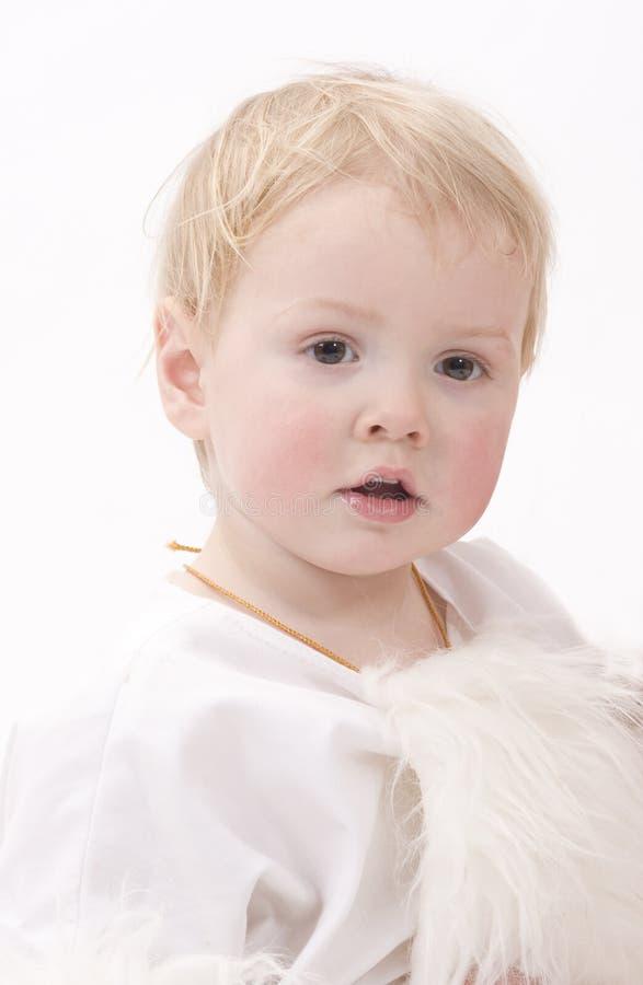 Download The angelic child stock photo. Image of preschool, angelic - 4286546