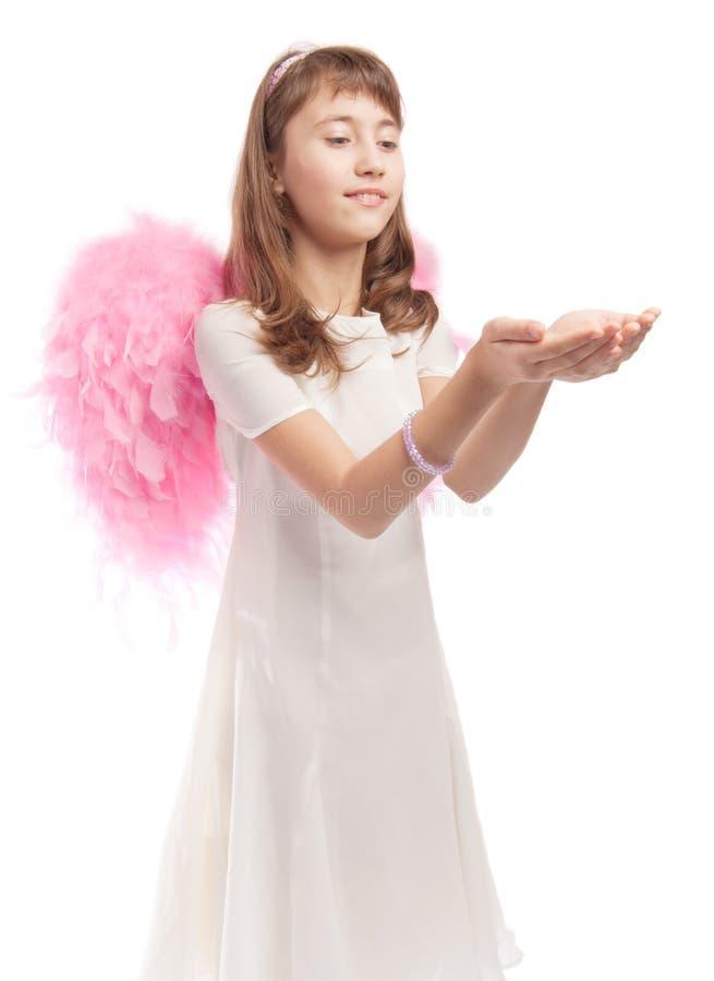 Angelic girl royalty free stock photo