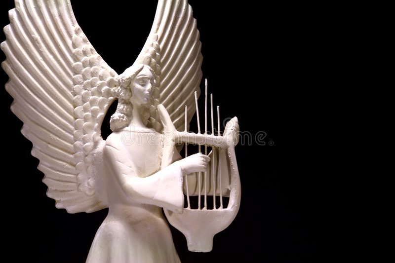 Angelic Music royalty free stock image