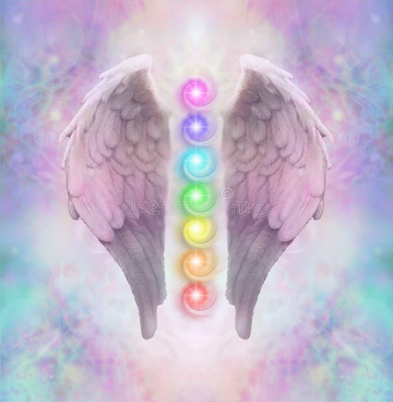 Angelic Sacred Chakras photo libre de droits