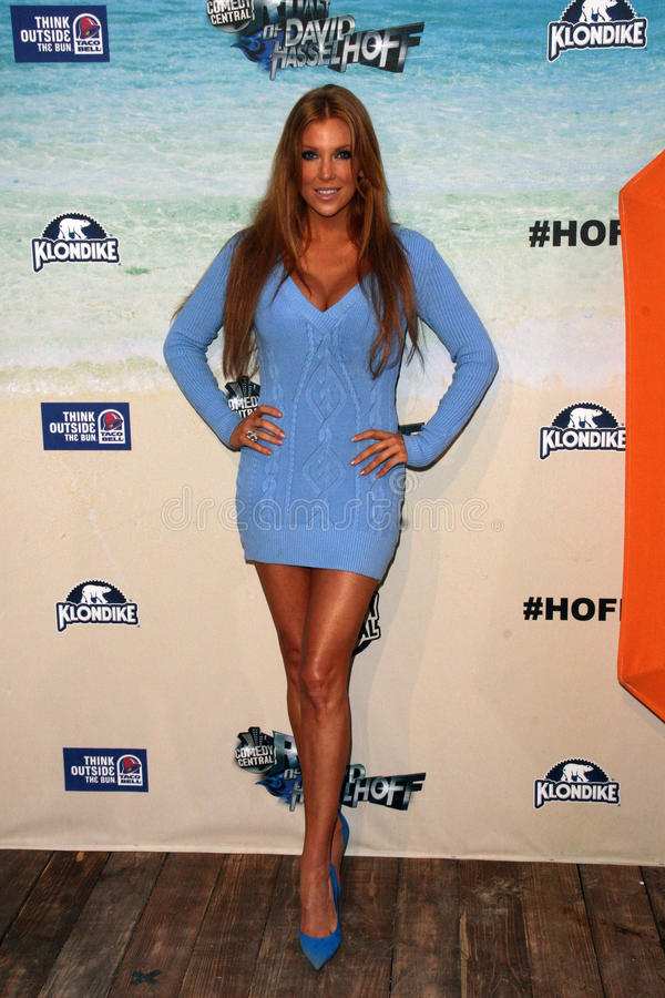 Angelica Bridges. At the Comedy Central Roast of David Hasselhoff, Sony Studios, Culver City, CA. 08-01-10 stock images