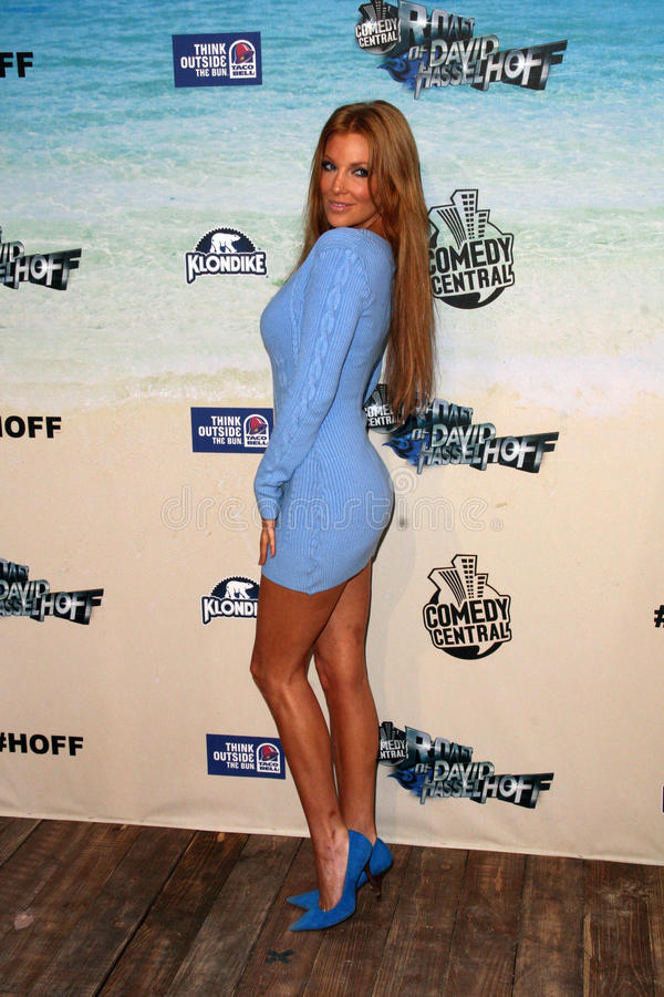 Angelica Bridges. At the Comedy Central Roast of David Hasselhoff, Sony Studios, Culver City, CA. 08-01-10 stock photo