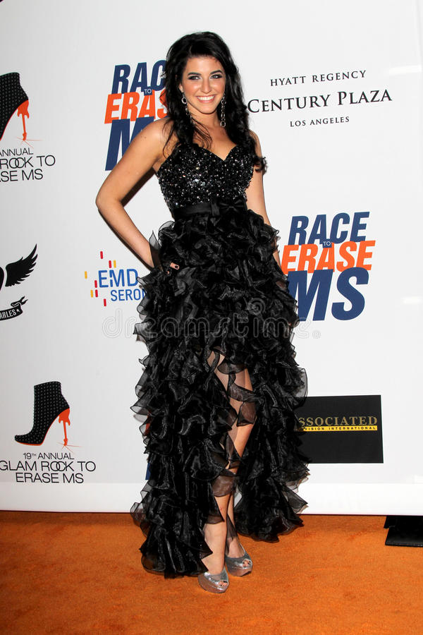 Download Angelica Salem Arrives At The 19th Annual Race To Erase MS Gala Editorial Stock Image - Image: 25274929