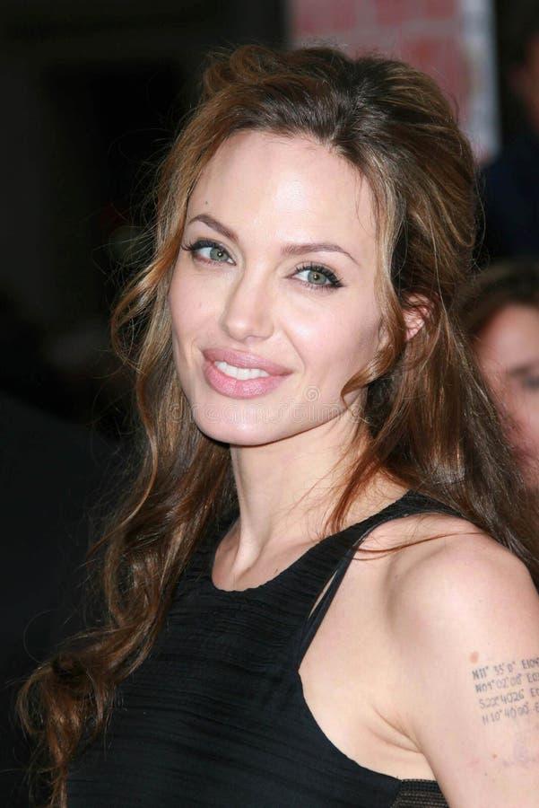 ANGELINA JOLIE, Angelina Jolie 免版税库存图片