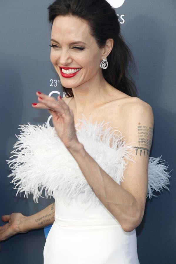 Angelina Jolie photo libre de droits