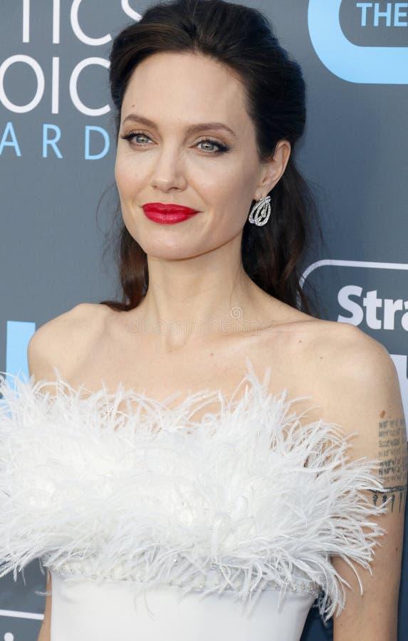 Angelina Jolie photographie stock