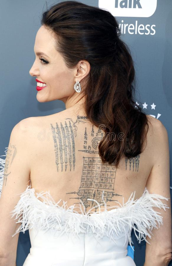 Angelina Jolie 图库摄影