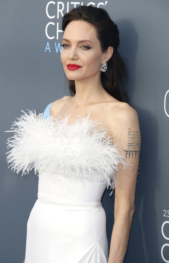 Angelina Jolie stock afbeeldingen
