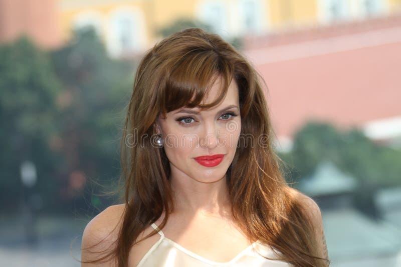 Angelina Jolie royalty-vrije stock afbeelding
