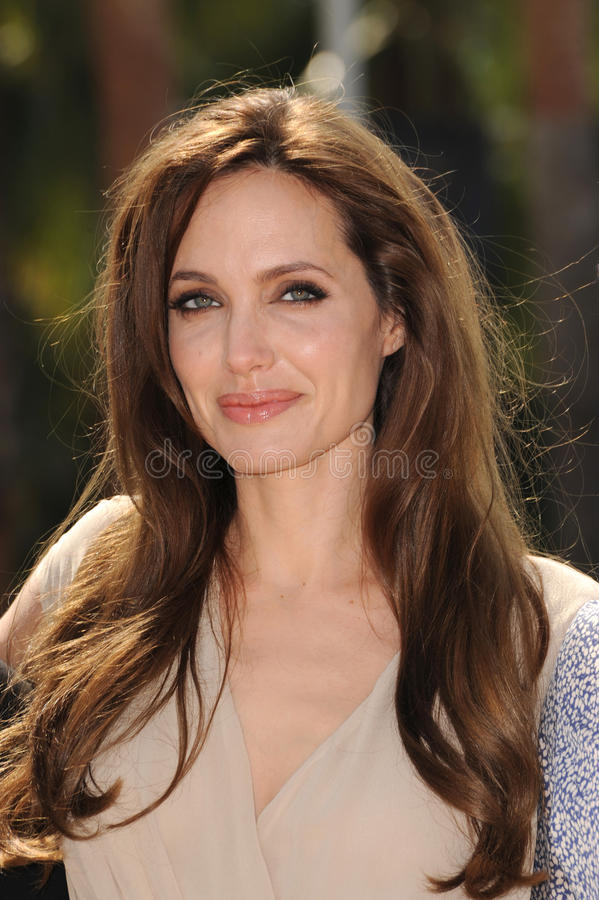 Angelina Jolie photographie stock