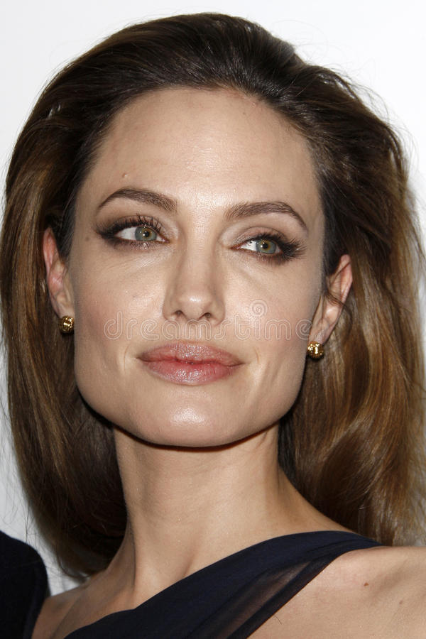 Angelina Jolie fotografia de stock