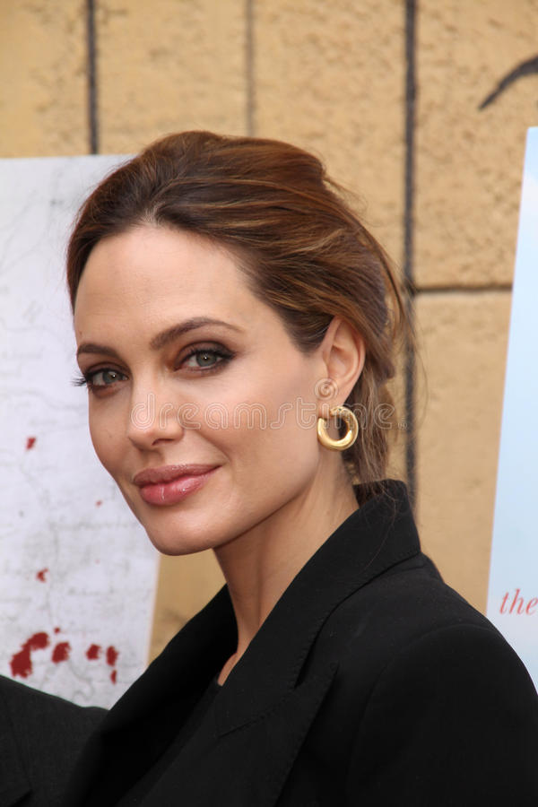 Angelina Jolie fotos de stock