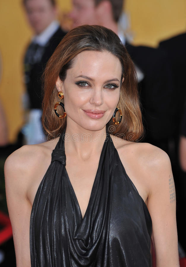 Angelina Jolie stock foto