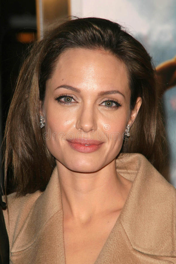 Angelina Jolie fotos de stock royalty free