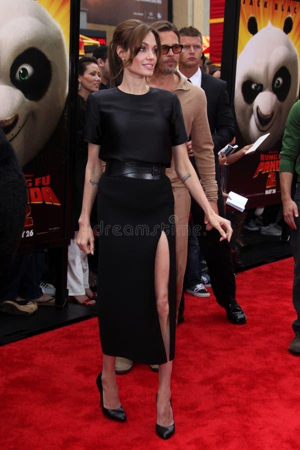 Angelina Jolie stock afbeelding