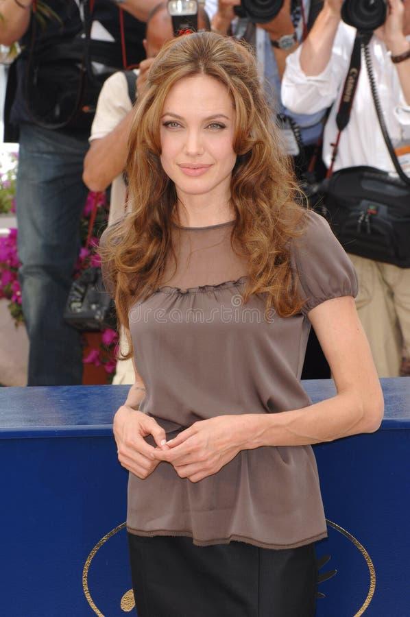 Angelina Jolie fotografía de archivo libre de regalías