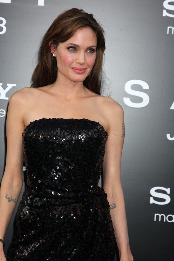 Angelina Jolie fotografia de stock royalty free