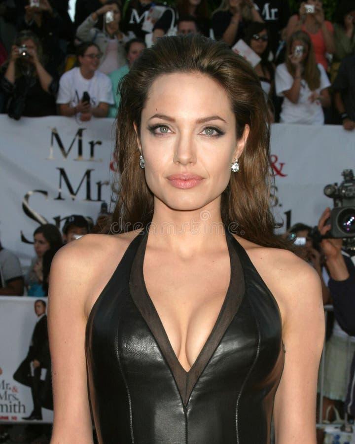 Angelina Jolie foto de archivo libre de regalías