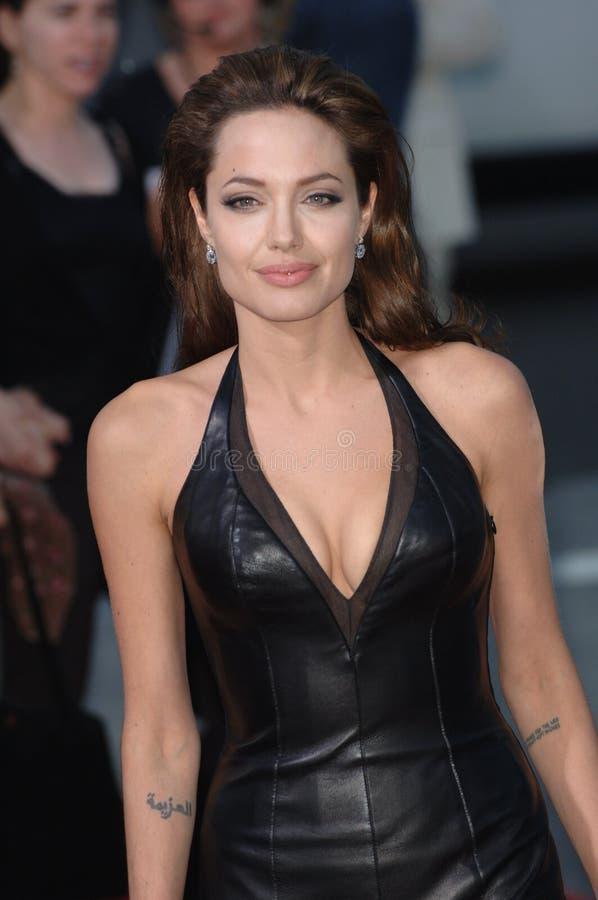 Angelina Jolie arkivbilder