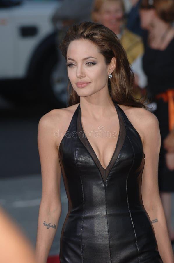 Angelina Jolie foto de stock royalty free