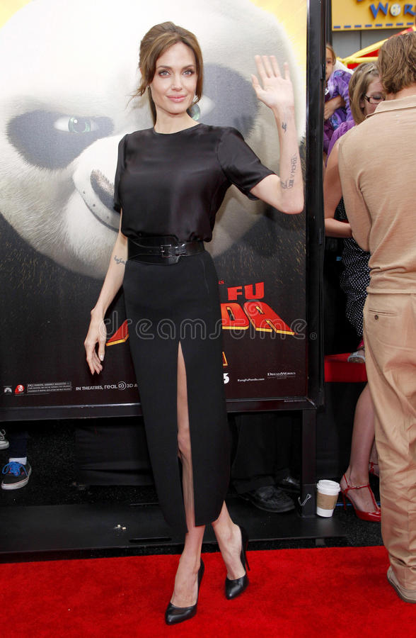 Angelina Jolie imagem de stock