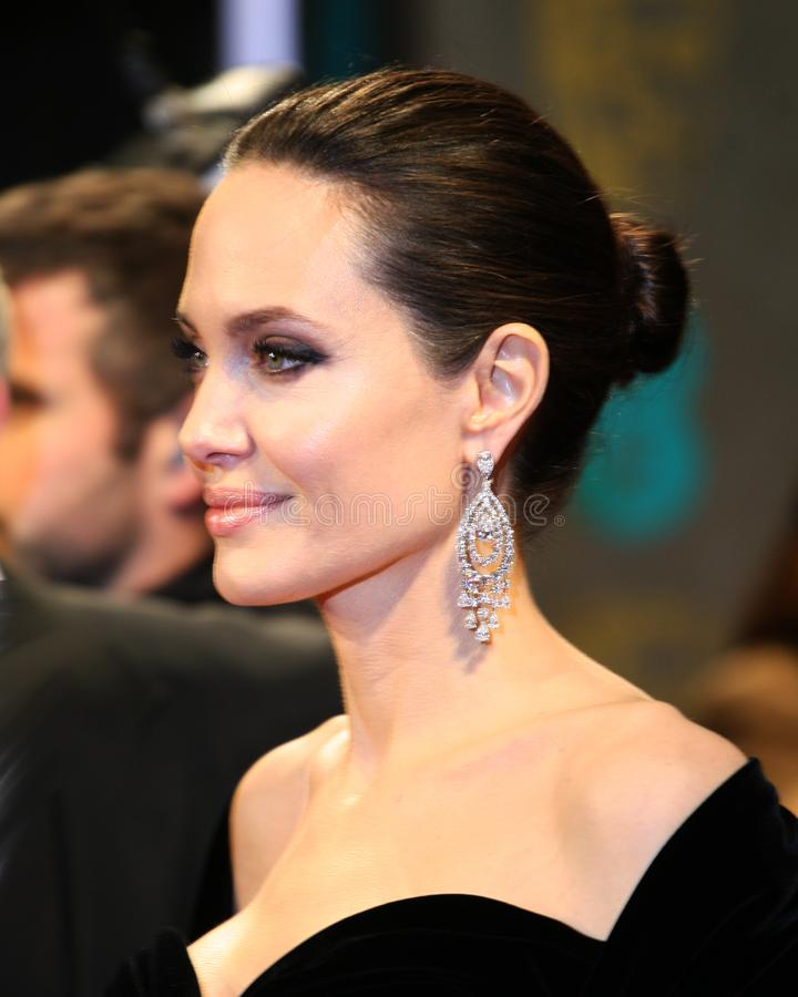 Angelina Jolie Actress e modello immagine stock
