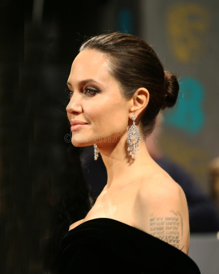 Angelina Jolie Actress royalty free stock images