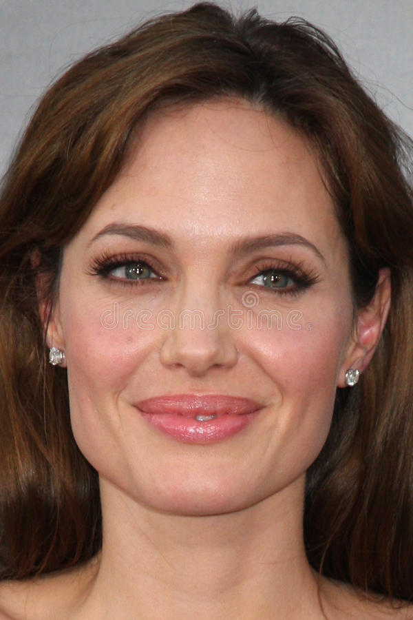 ANGELINA JOLIE, Angelina Jolie stock fotografie