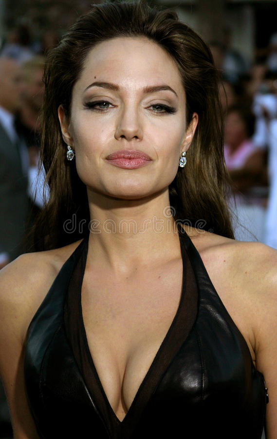 Angelina Jolie royalty free stock photography