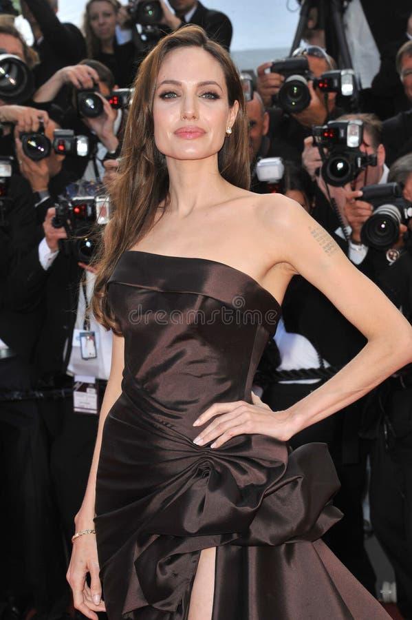 ANGELINA JOLIE, Angelina Jolie, Brad Pitt stock foto's