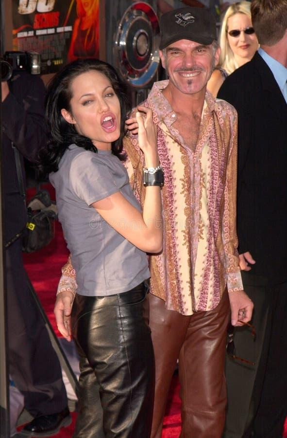 Angelina Jolie, Billy Bob Thornton royalty-vrije stock foto