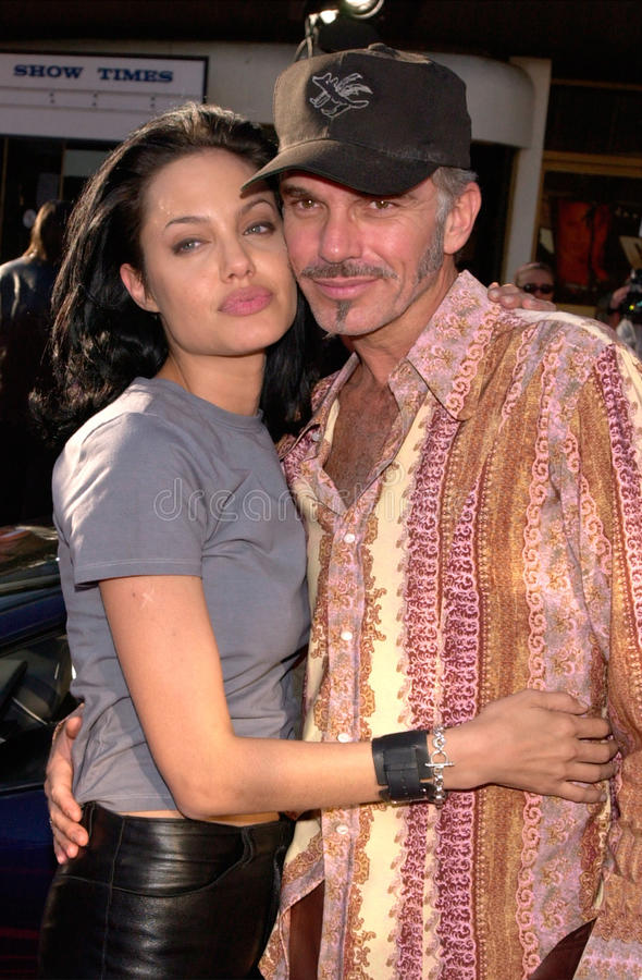 Angelina Jolie, Billy Bob Thornton royalty-vrije stock foto