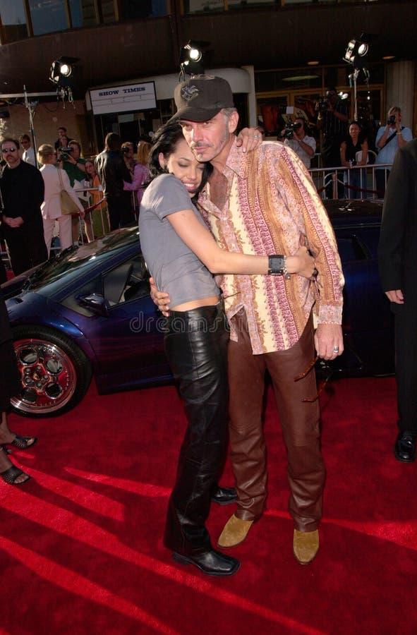 Angelina Jolie, Billy Bob Thornton stock afbeelding