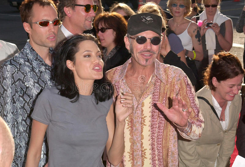 Angelina Jolie, Billy Bob Thornton fotos de archivo