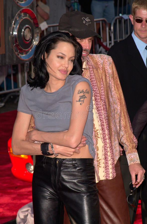 Angelina Jolie, Billy Bob Thornton stockbild