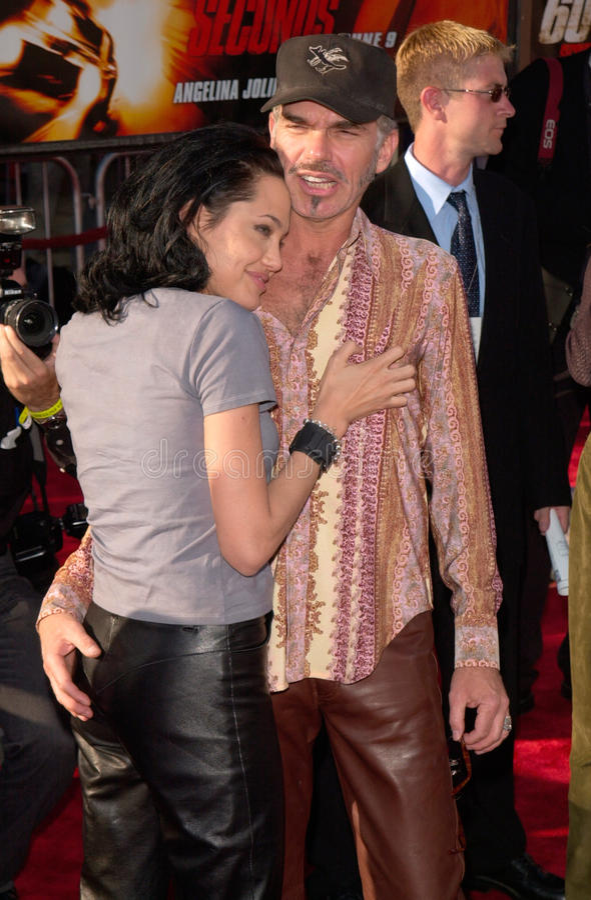 Angelina Jolie, Billy Bob Thornton stock fotografie
